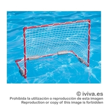 Portería mini-waterpolo flotante.